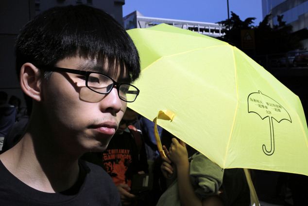 Hong Kong activist Joshua Wong jailed for six months