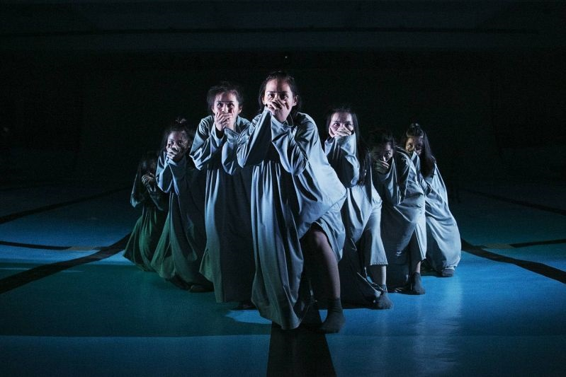 "Dance piece ""038,"" performed by Kuo-shin Chuang Pangcah Dance Theatre, is one of several Taiwan works at the Edinburgh Festival Fringe Aug. 4-28. (Cou..."