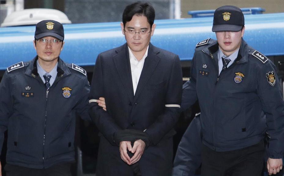 三星副總裁李在鎔遭判決5年有期徒刑定讞