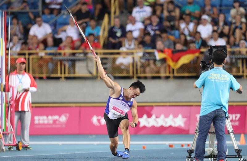台灣標槍好手鄭兆村在世大運男子標槍是擲出91.36公尺的好成績。根據國際田總網站紀錄,鄭兆村已躍居今年第三傑,僅次於兩名德國選手。