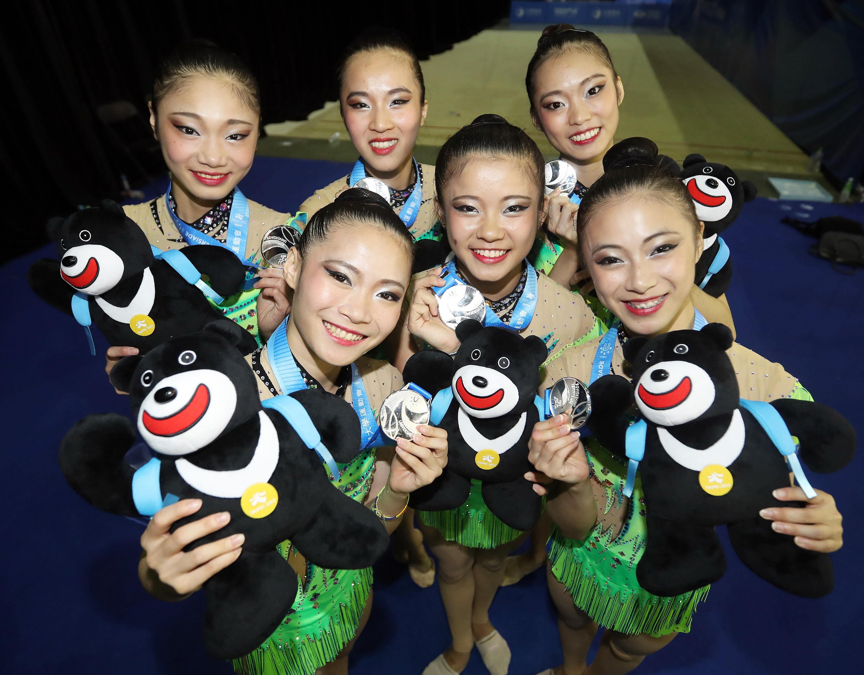 Taiwan wins silver in rhythmic gymnastics | Taiwan News