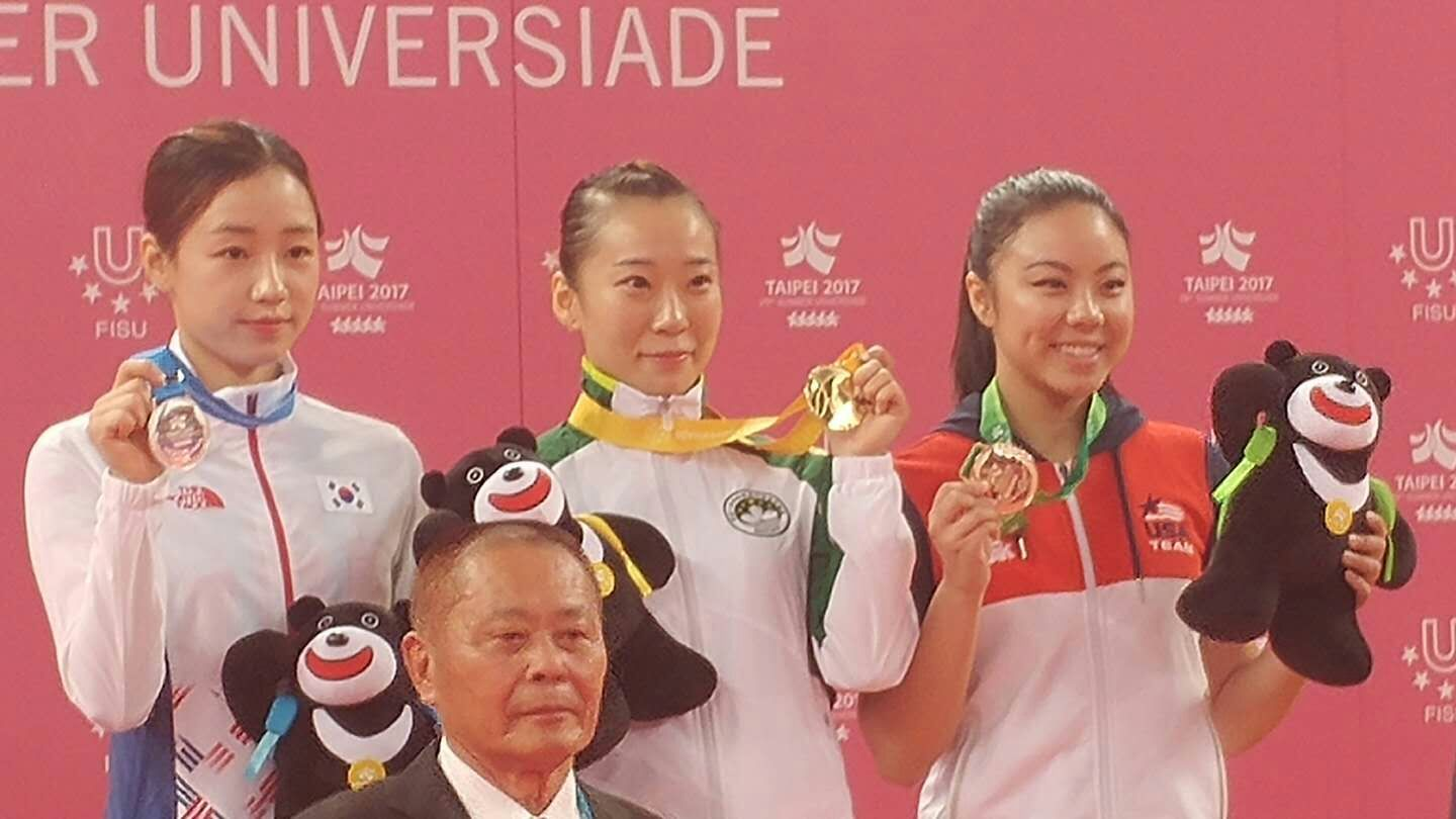 Team USA athlete wins first medal in wushu at Universiade