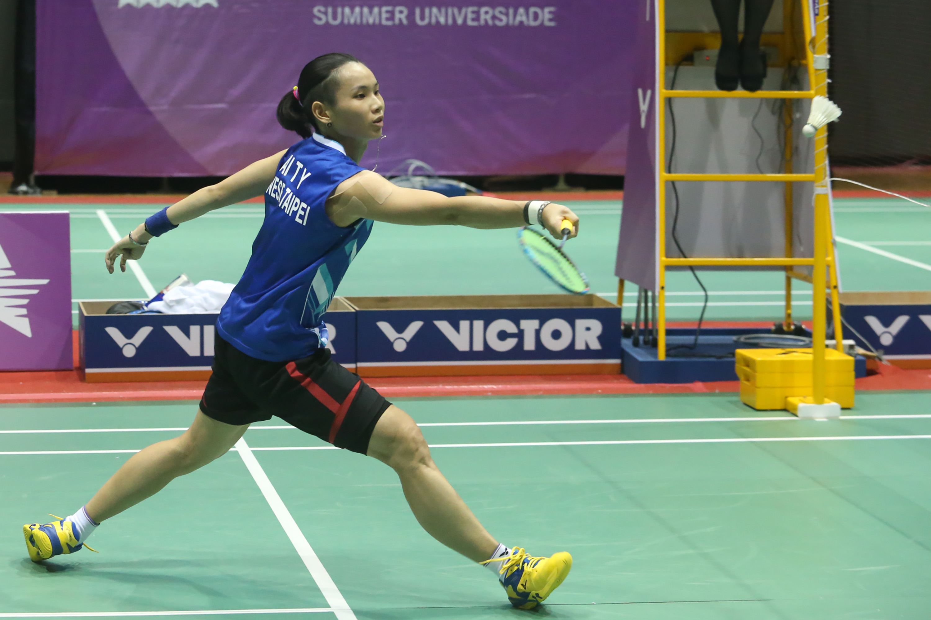 Taiwan s badminton queen Tai Tzu ying wins another Universiade