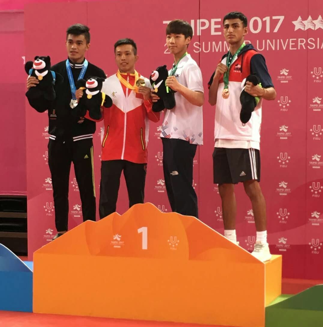 Team USA athlete wins first medal in Sanda at Universiade