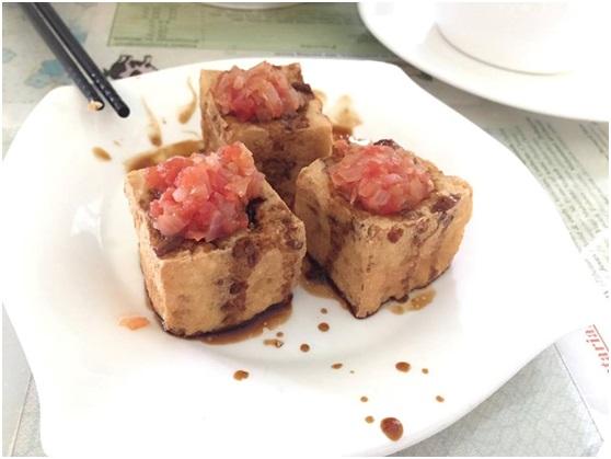 愛家餐廳餐點-爆漿豆腐