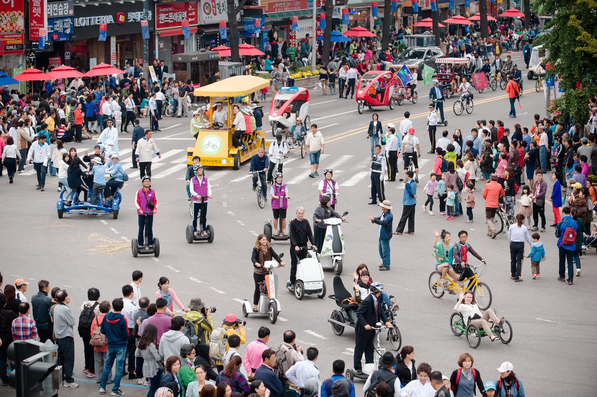 Previous host nations for EcoMobility were South Africa and South Korea. Image courtesy Ecomobility.org