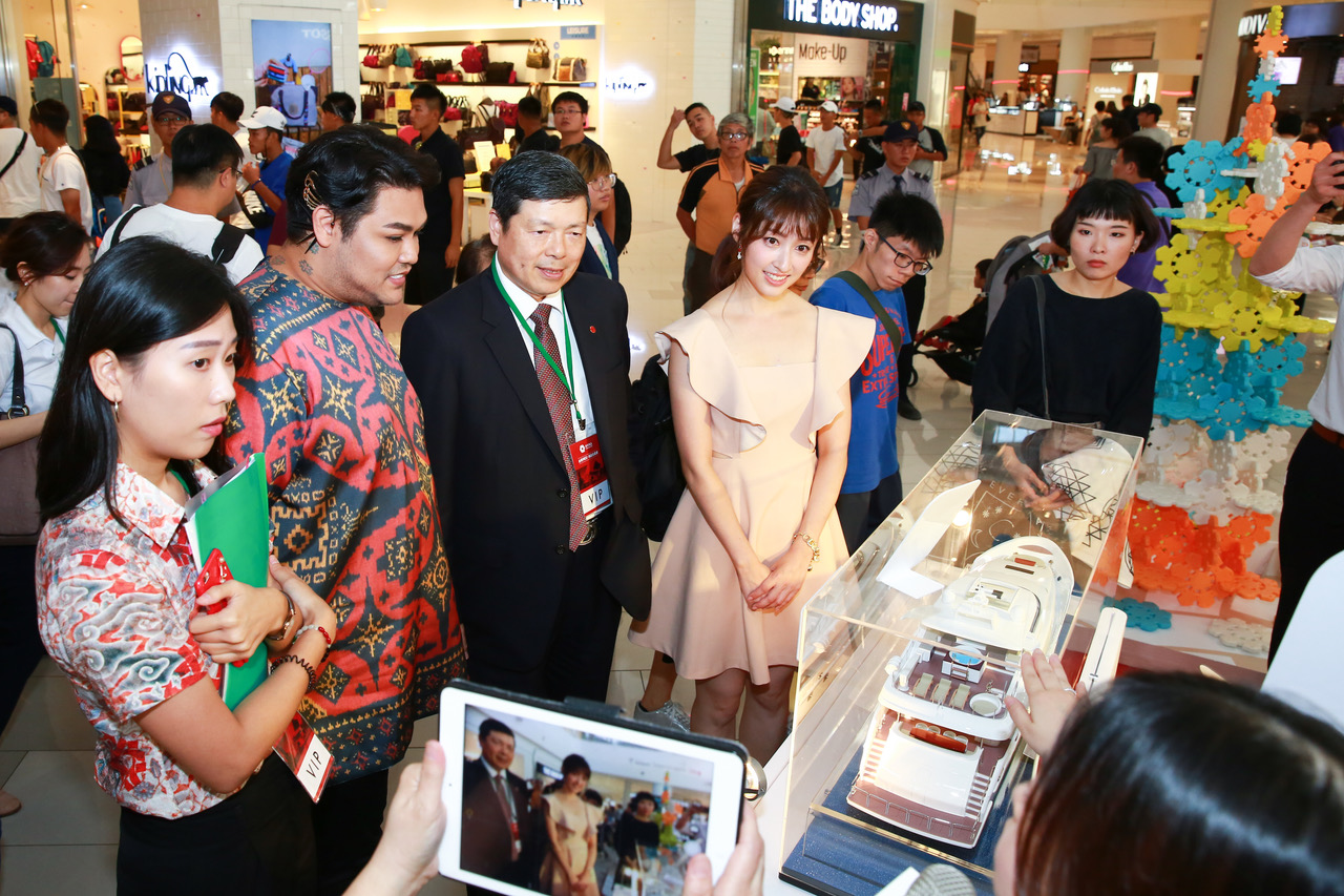 Idonesian desginer touts Taiwan Excellence products