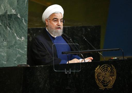 伊朗總統羅哈尼(Hassan Rouhani)(美聯社資料照)