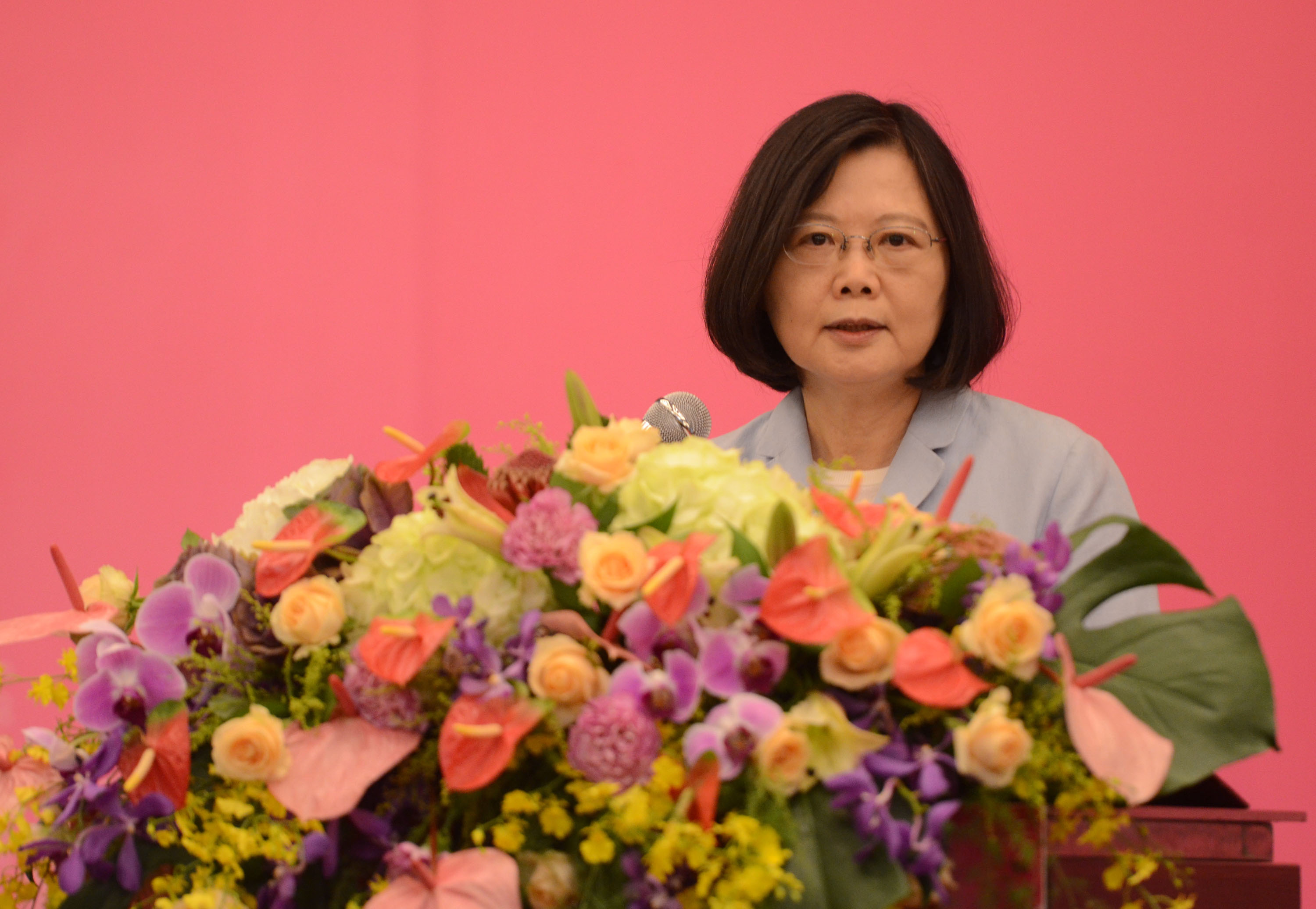President Tsai is peaceful, cool-headed and less like a DPP president, veteran politician Chiou I-jen said Saturday.