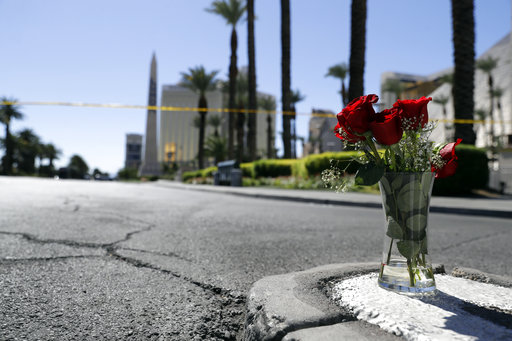 美國賭城拉斯維加斯驚傳重大槍擊案,已造成59死、527傷,駐舊金山辦事處目前正協助搜尋失聯的台灣民眾,目前尚未獲報台灣民眾傷亡的消息。(圖
