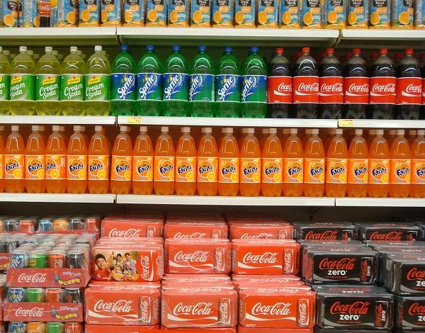 Stacks of beverages (Source: Pixabay)