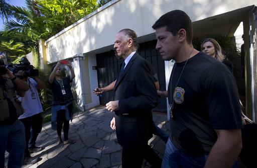 昨(5)日,2016年里約奧運負責人Carlos Nuzman遭到檢方逮捕,他被指控利用申奧一事貪汙,並將贓款匯到瑞士帳戶隱匿資產。(圖片
