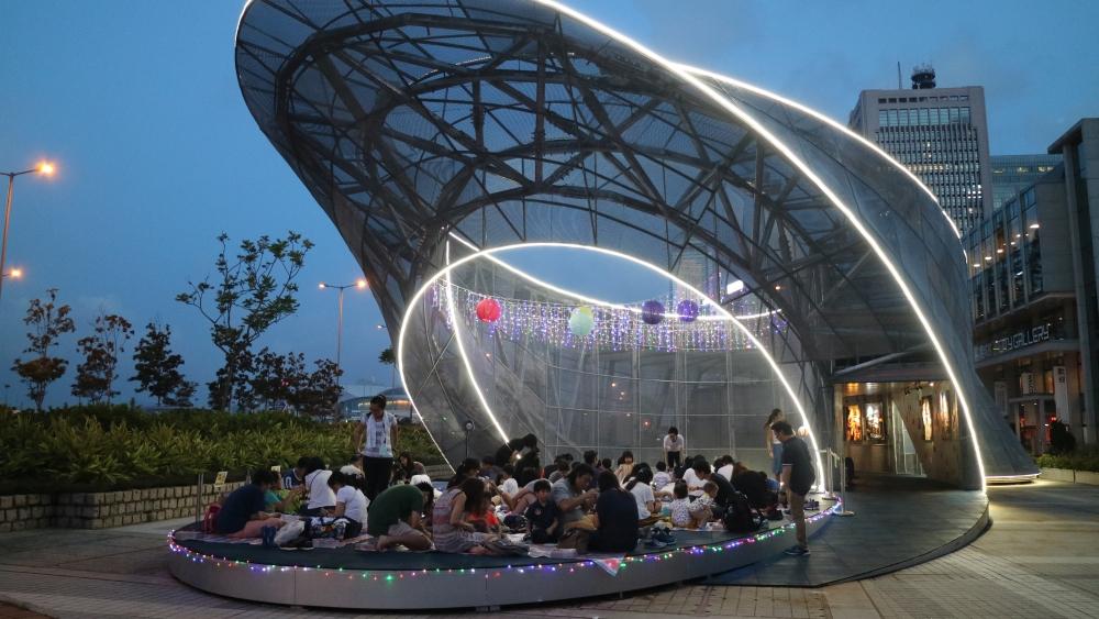 「樂‧遊」展區。翻攝香港發展局官網