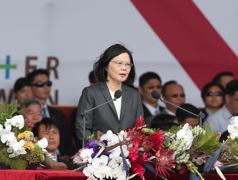 慶雙十 蔡英文:承受民意託付 讓台灣更好
