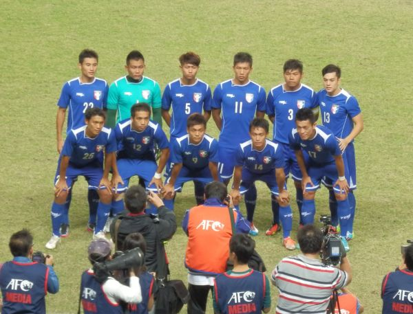Taiwan national soccer team.