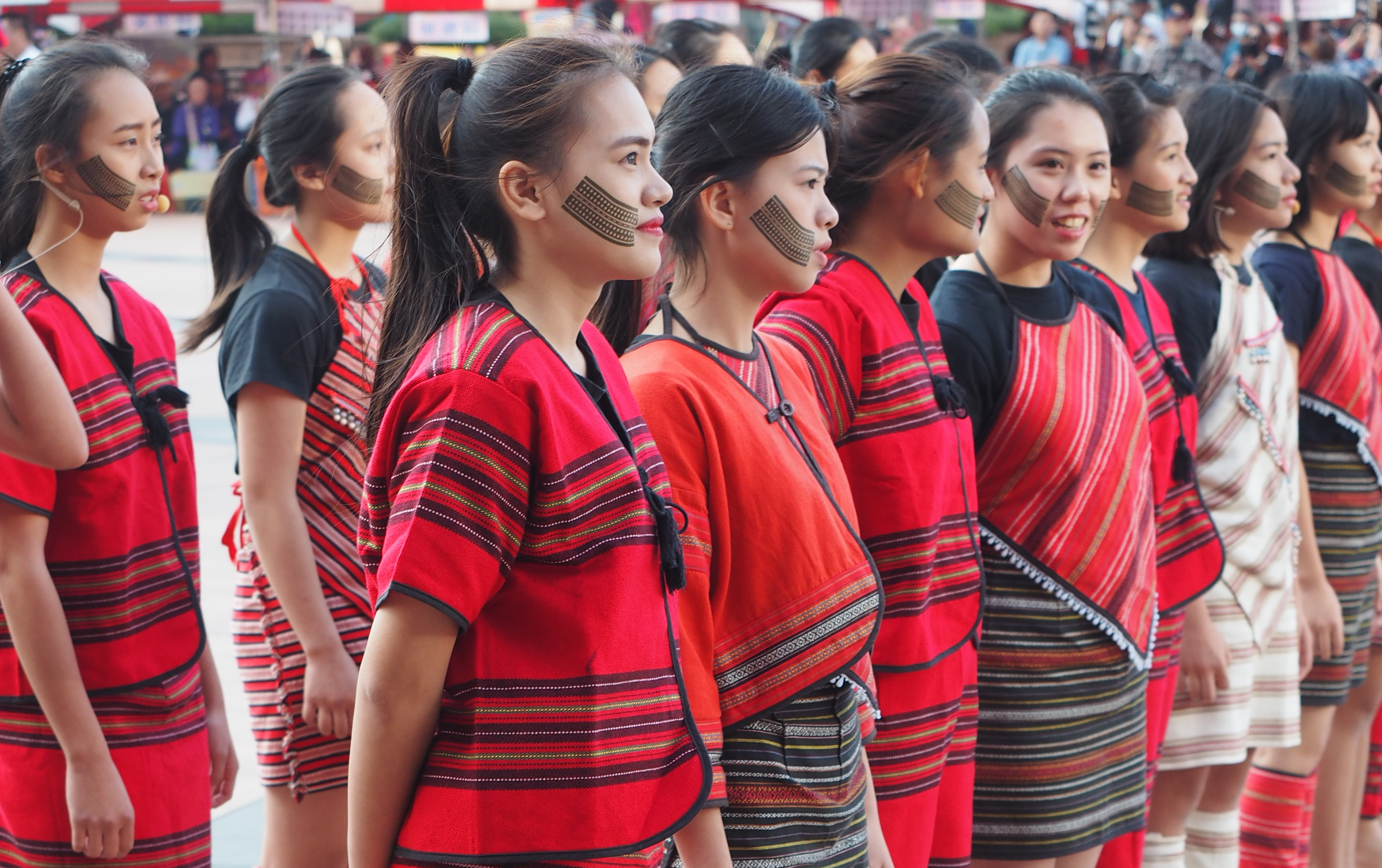 Photo of the Day: Facial tattoos of Atayal women
