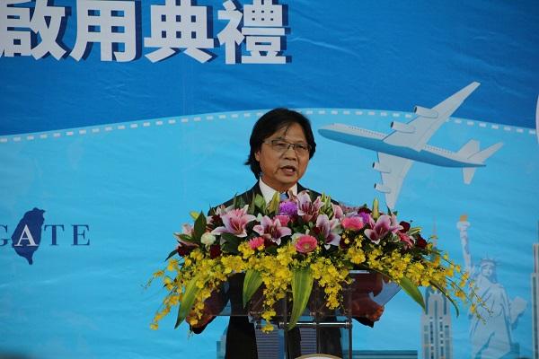 Taiwan's Minister of the Interior Yen Jiunn-rong (Teng Pei-ju/Taiwan News)