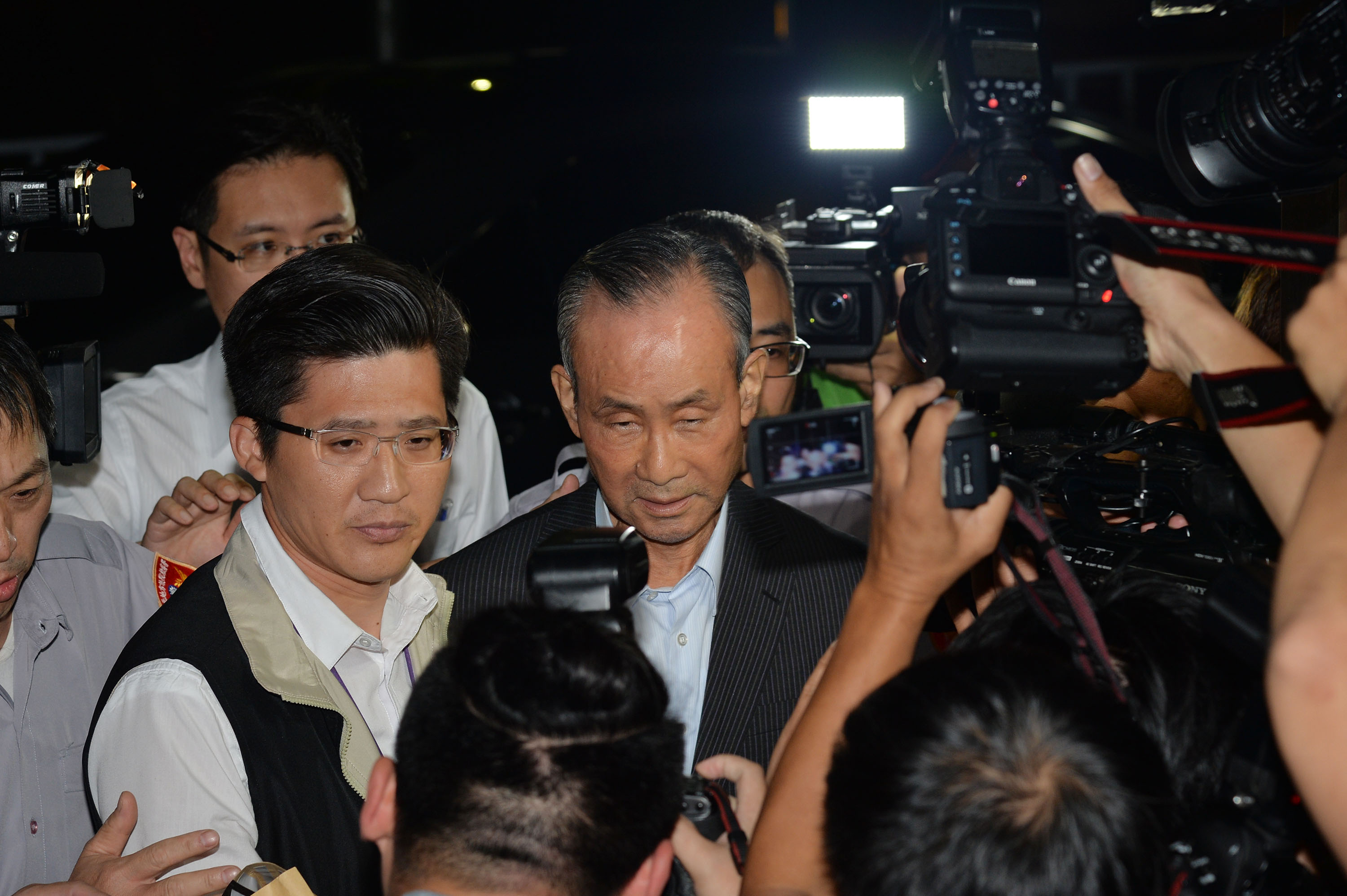 Farglory Group chief Chao Teng-hsiung in July 1 appearance.
