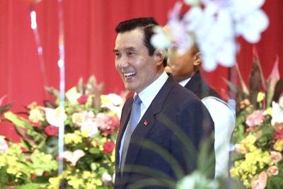 救國團成立65週年團慶茶會31日在台北市劍潭海外青年 活動中心舉行,前總統馬英九也出席。中央社