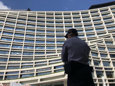 台北市松菸文創大樓7樓的富邦建設總部,今天中午傳出槍聲。中央社
