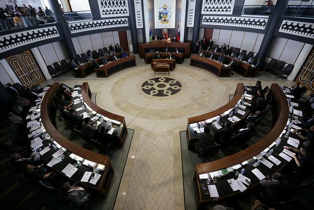 索羅門國會(總統府提供)