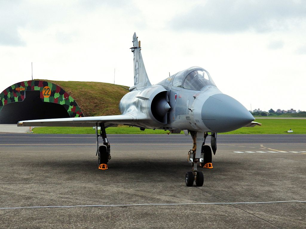 A Mirage-2000 at Hsinchu Air Force Base (photo courtesy of Hsuan Shih-sheng)