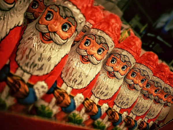 Santa's greatest audience in Germany is Taiwanese. (photo courtesty Pexels)