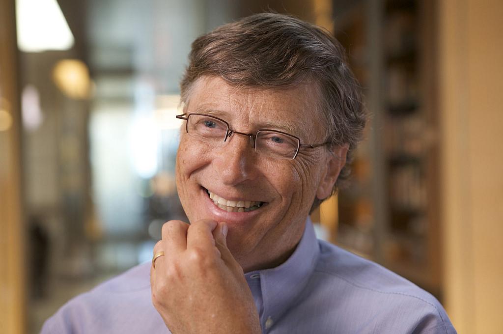 比爾蓋茲以個人名義投資五千萬於英國失意病症研究基金(Dementia Discovery Fund)。 (圖片來源:Flickr, htt