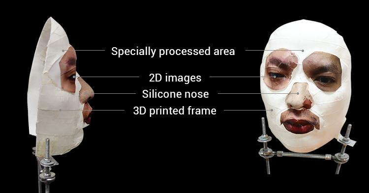 一個越南的資安公司Bkav上週在網路發布一支影片,花了150美元製作一張假面具就能解鎖iPhone X。(圖片來源:Bkav官網)