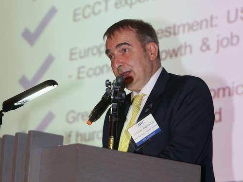 Olivier Rousselet (胡日新), ECCT vice chairman & treasurer.