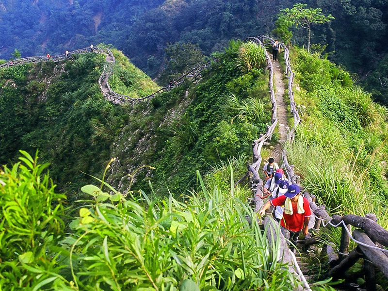 Dakeng Scenic Area Hiking Trail Number 4. (Travel.taichung.gov.uk)