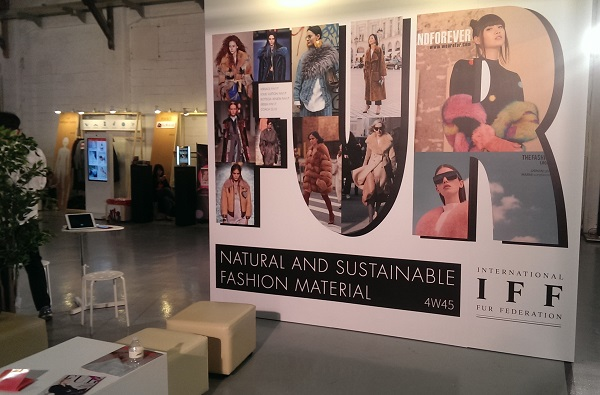 International Fur Federation Trade Booth TIS 2017