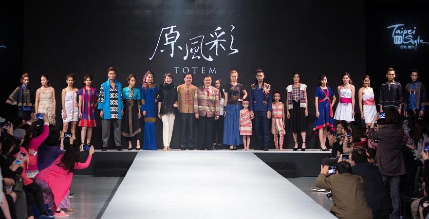 TOTEM brand runway presentation (Image: Taipei IN Style)