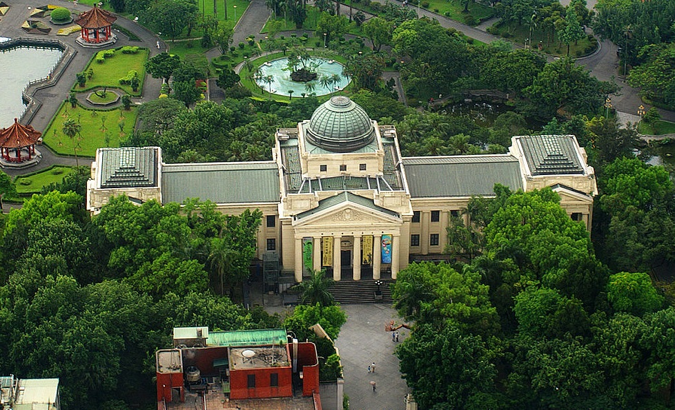 National Taiwan Museum at 228 Peace Memorial Park, Taipei
