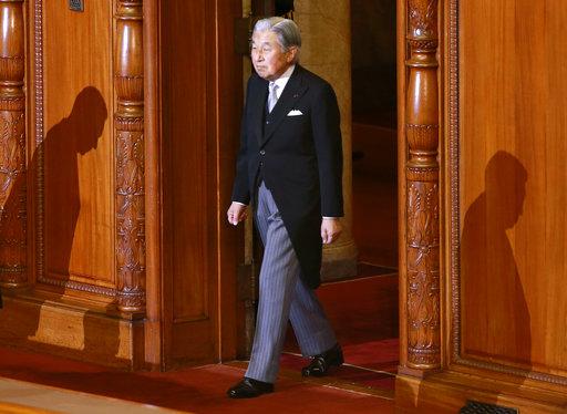 日本天皇明仁(圖片來源:美聯社)