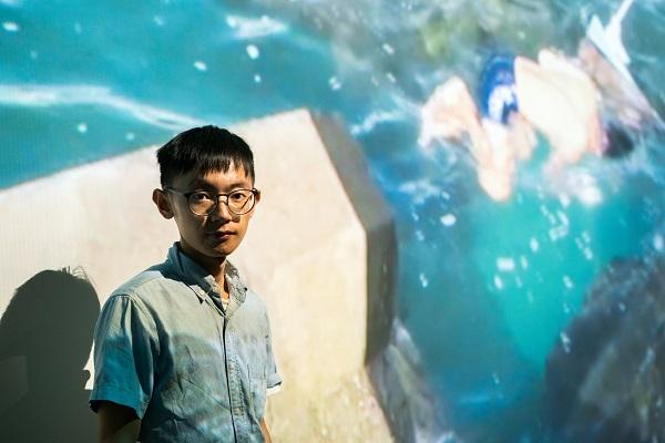 台北美術獎首獎得主王煜松 (照片來源:台北市立美術館)