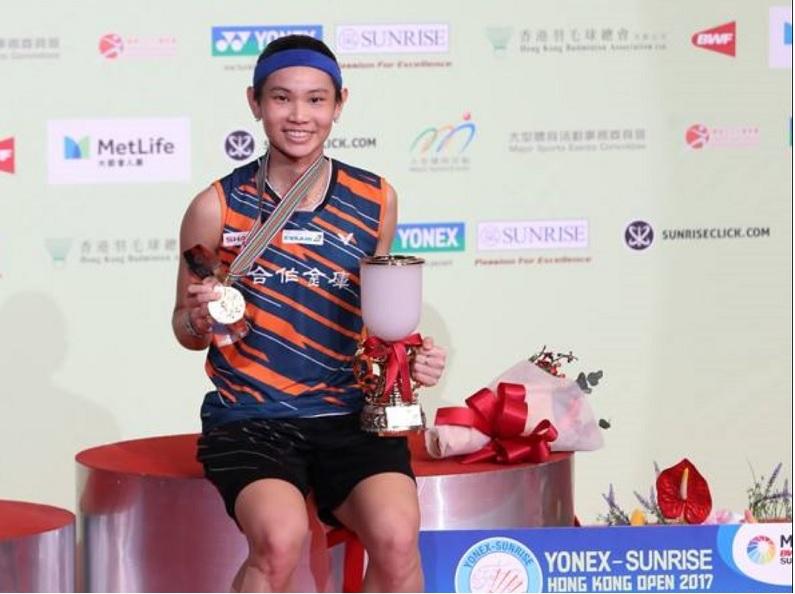 翻攝戴資穎臉書 (By Badminton Photo)