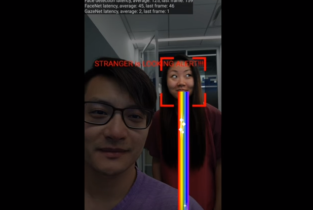 Google研究員Hee Jung Ryu和Florian Schroff將展示一項新的人工智慧技術,從此不用再擔心有人從背後偷窺你的手機