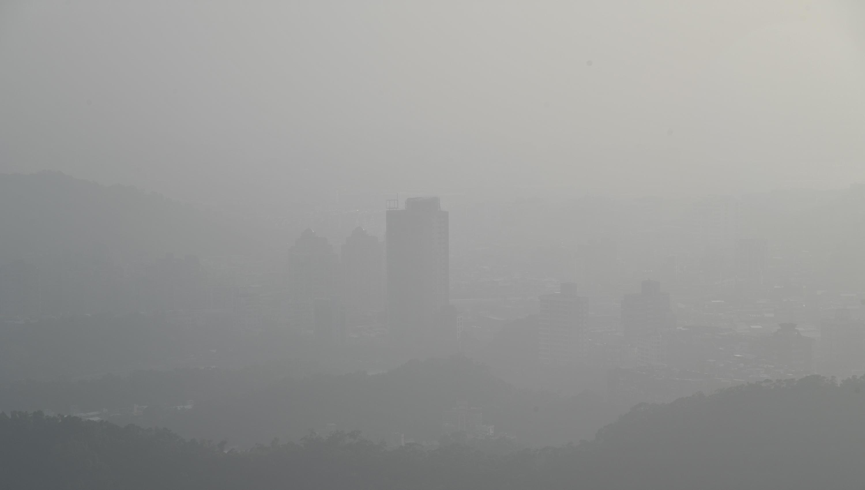 Taipei City as viewed from Neihu Wednesday.