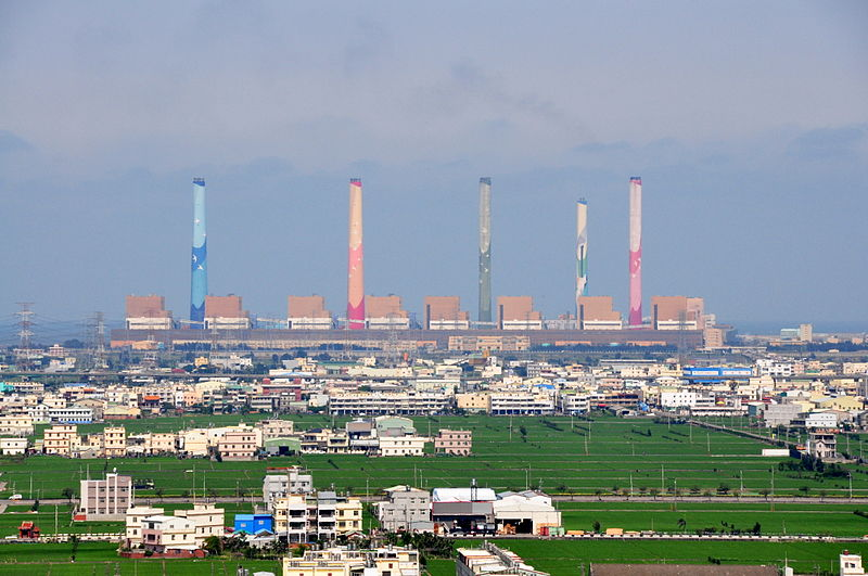 Taiwan's Taichung Power Plant must reduce coal consumption by 24 percent in 2018