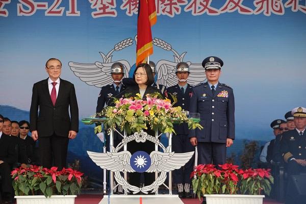 President Tsai Ing-wen (Teng Pei-ju/Taiwan News)