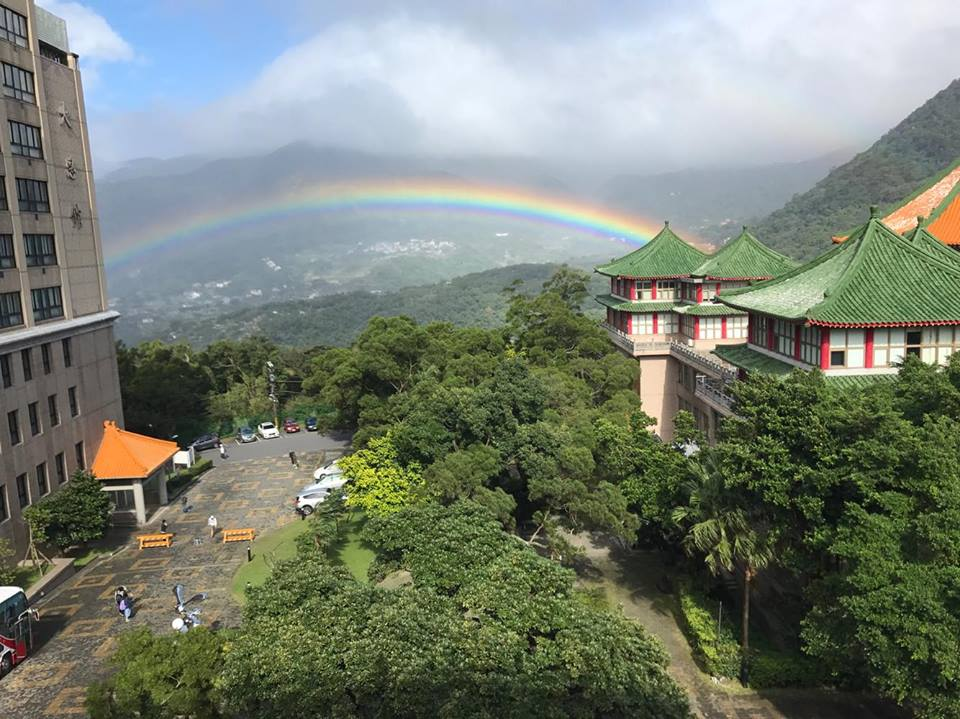 Taiwan shatters world record for longest-lasting rainbow