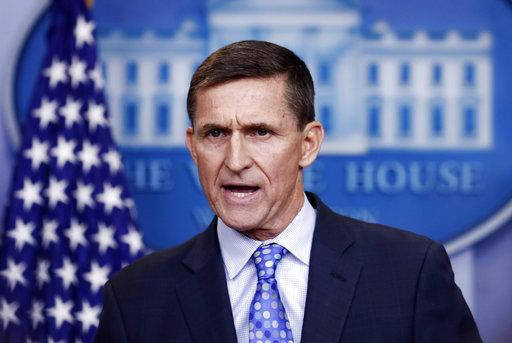 白宮前國家安全顧問弗林。美聯社