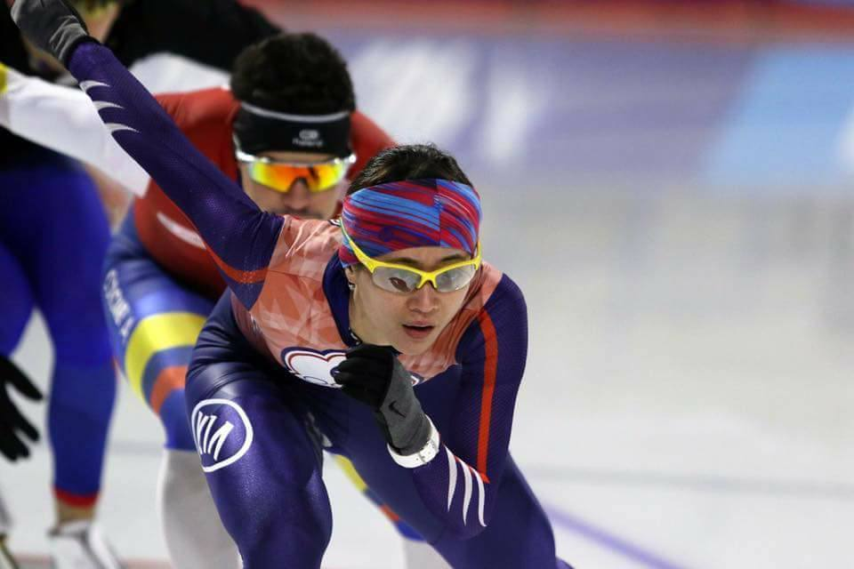 Huang Yu-ting is headed to Pyeong Chang in 2018. (Photo: Huang's Facebook)