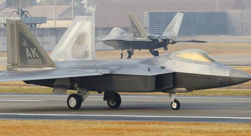F-22猛禽戰鬥機(圖片來源:美聯社)