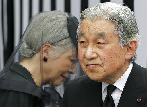 日本天皇伉儷(圖片來源:美聯社)