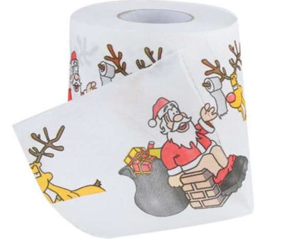 Bad Santa toilet paper. (Image from shopee.tw)