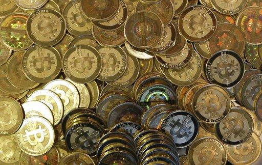比特幣示意圖(圖片來源:美聯社)