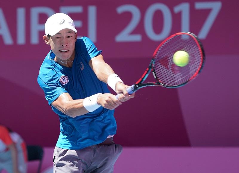 專訪  世大運網球男單冠軍莊吉生 矢志用網球打響台灣名號
