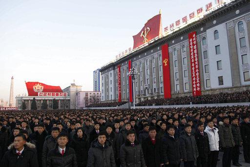 位於北韓首都平壤的金日成廣場(圖片來源:美聯社)